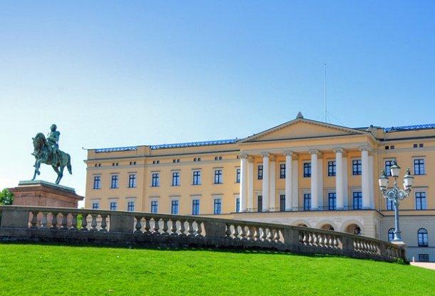 norway-oslo-royal palace