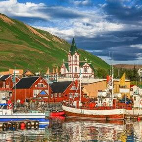 Cruising Iceland