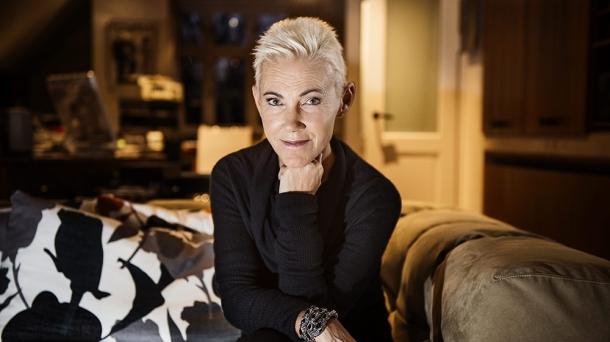 Marie Fredriksson at home in her studio, Sweden - 25 Nov 2013
