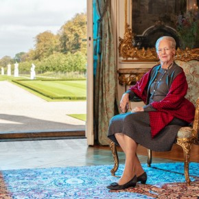 Queen Margrethe at80