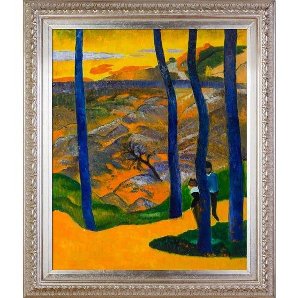 Paul-Gauguin-Blue-Trees-1888-Hand-Painted-Framed-Canvas-Art-5b5ea45a-121c-4e78-9a7e-2481decb6f55_600